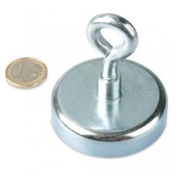 Aimant 110 KG avec anneau