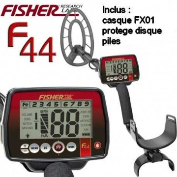FISHER F44 pack casque et...