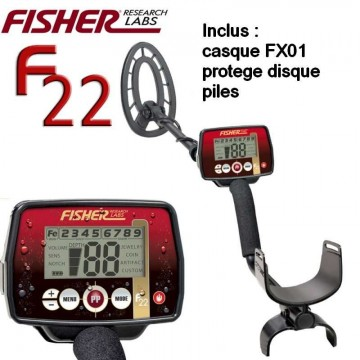 Fisher F22 pack casque +...