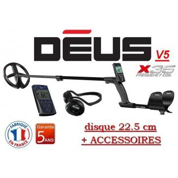 Détecteur Deus full :  22.5 cm X35