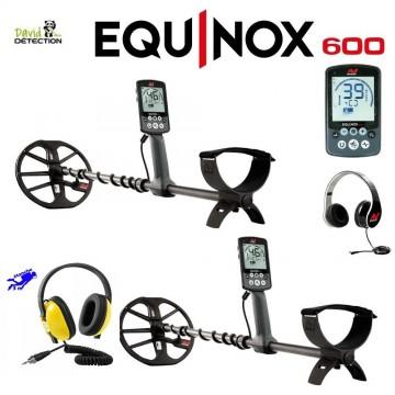 Detecteur minelab equinox 600