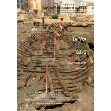 carte archeologique 83/2. Var