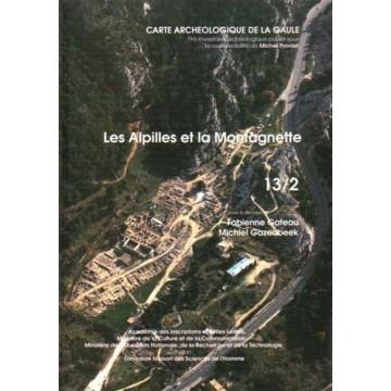 carte archéologique 13/2. Les Alpilles et la Montagnette