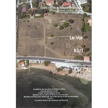 carte archéologique 83/1. Var