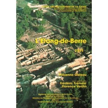 carte archéologique 13/1. Étang de Berre