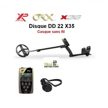XP ORX 22 X35 + casque sans fil