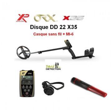 XP ORX 22 X35 + casque sans...