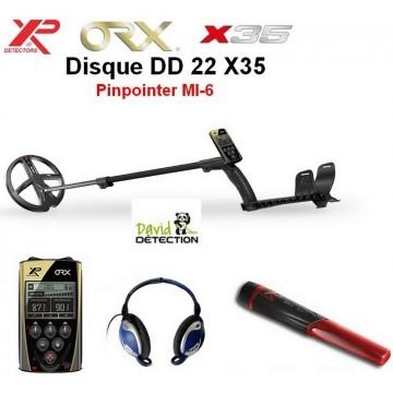 XP ORX 22 X35 lite  + pinpointer MI-6
