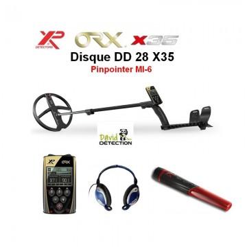 XP ORX 28 X35 lite  + pinpointer MI-6