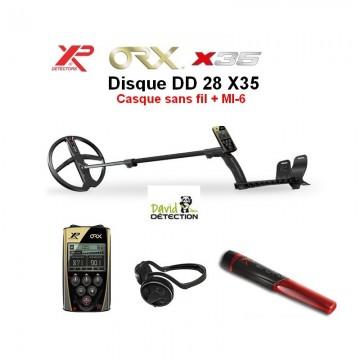 XP ORX 28 X35 + casque sans...