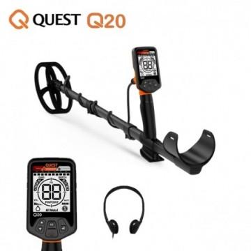 Quest Q20 + pelle