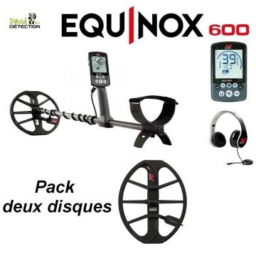 Détecteur de metaux minelab equinox 600