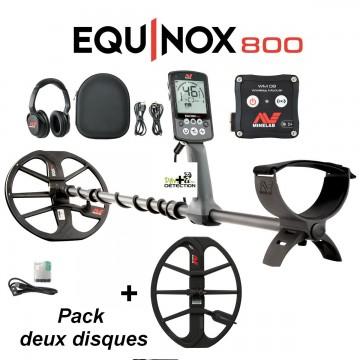 Detecteur minelab equinox 800