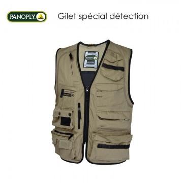 Gilet spécial détection