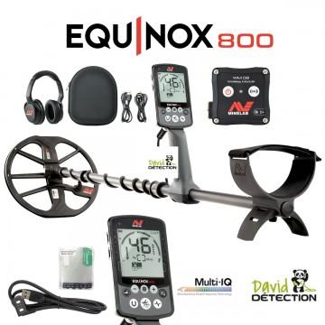 détecteur de plage equinox