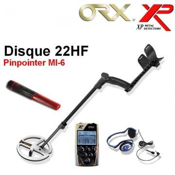 XP ORX 22 hf lite + pinpointer MI-6