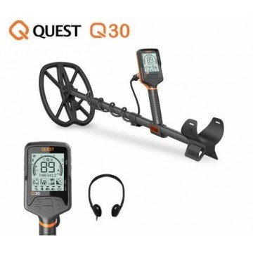 détecteur de métaux quest q30