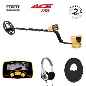 GARRETT ACE 150 + casque +protege disque
