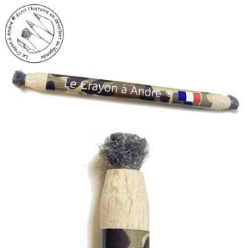 Crayon grattoir laine...