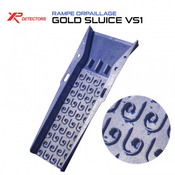 rampe d'orpaillage XP Gold Sluice VS1