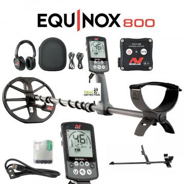 Minelab equinox 800 canne carbone
