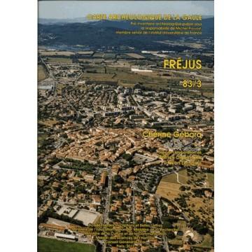 carte archeologique de la gaule 83/3 livre