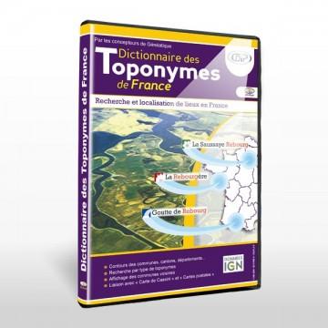 Dictionnaire des toponymes...
